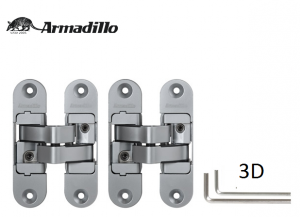 Петля скрытой установки с 3D-регулировкой