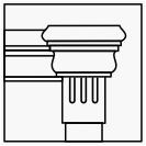 Капители (массив дуба или бука)
