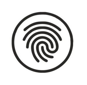 Открытие отпечатком пальца
